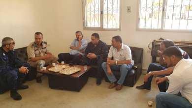 مدير أمن الجفارة في جولة تفقدية شملت الكريمية والسواني