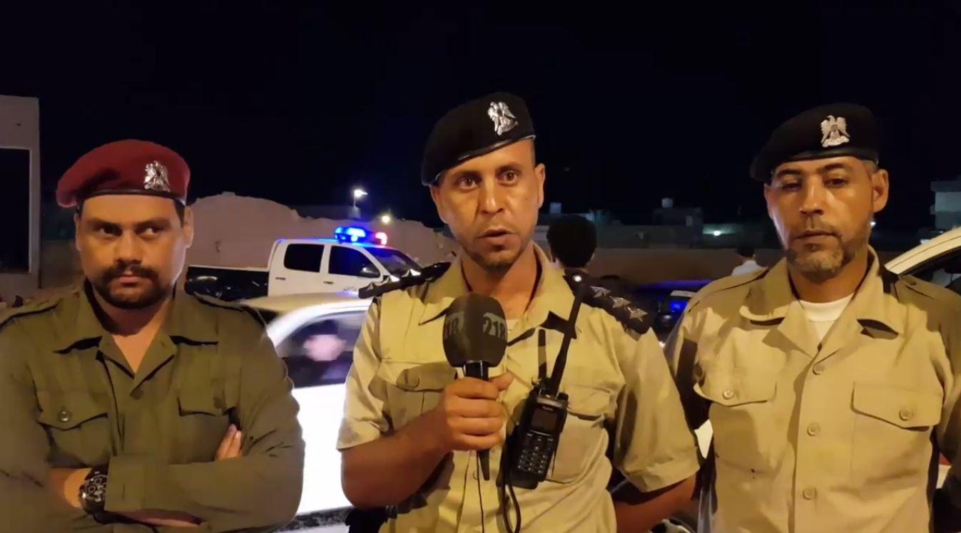 تأمين الغرفة الأمنية المشتركة لمدينة اجدابيا