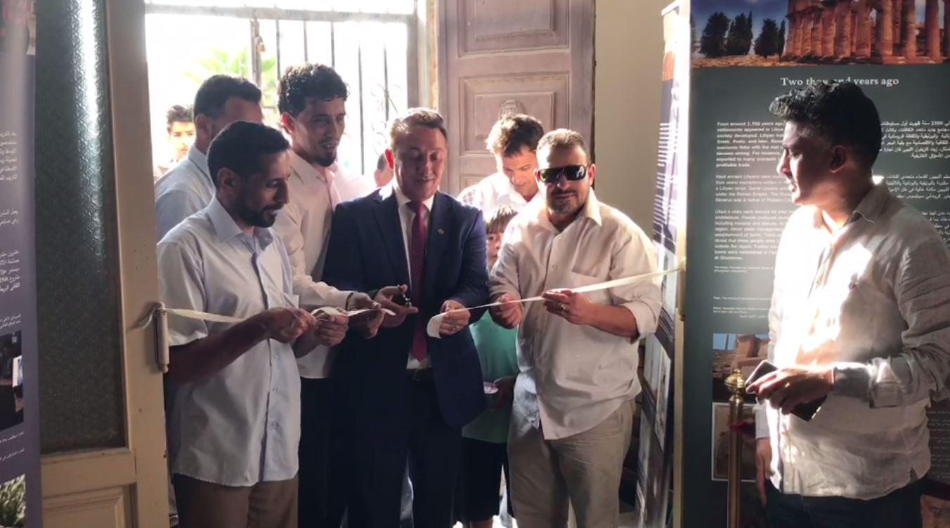 رئيس مصلحة الآثار يعيد افتتاح متحف طبرق الوطني