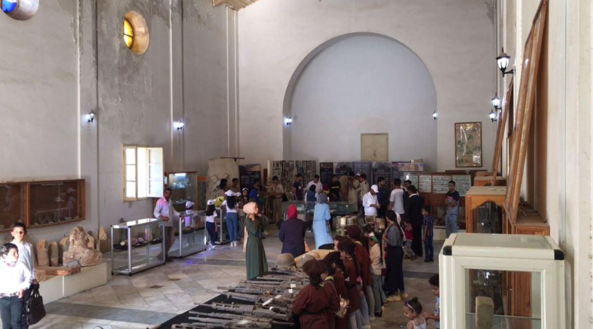 متحف طبرق الوطني - القاعة الرئيسية