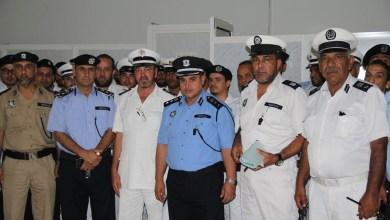 اجتماع لشرطة المرور في مدينة مصراتة