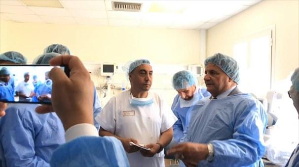 افتتاح مقر العيادات الخارجية التخصصية بمستشفى الوحدة - درنة.MOV_snapshot_02.38_[2019.09.16_16.16.50]