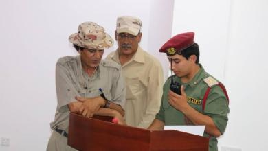 منطقة طبرق العسكرية .. حفل تخرج لدورة تدريبية عسكرية عن المخابرة والاتصالات اللاسلكية