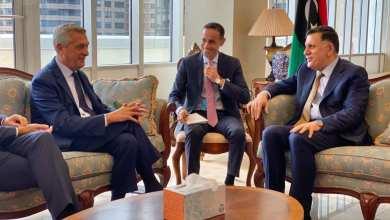 لقاء في نيويورك جمع السراج مع المفوض السامي للأمم المتحدة لشؤون اللأجئين فيليبو غراندي