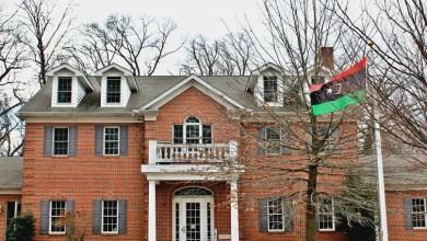 السفارة الليبية في واشنطن