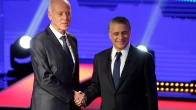 المرشحين للرئاسة نبيل القروي وقيس سعيد