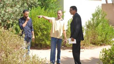 مدير مكتب الخدمات البوانيس يتفقد المؤسسات التعليمية بمنطقة الزيغن