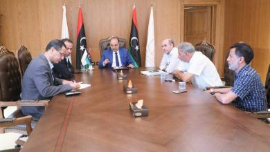 بلدية بنغازي تتخد إجرءات لتنفيذ عدة مشاريع في سيدي خليفة