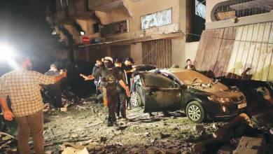 غارة جوية إسرائيلية تسفر عن مقتل قيادي فلسطيني وزوجته بحي الشجاعية في غزة