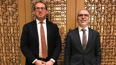 مصطفى صنع الله - السفير الأميركي الجديد لدى ليبيا ريتشارد نورلاند