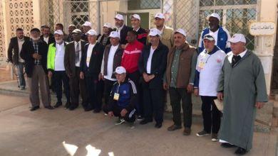 غدامس .. قافلة الخير تصل من طرابلس وقوامها أعضاء جمعية محبي كرة السلة وجمعية محبي المدينة القديمة طرابلس