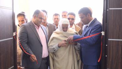من مراسم افتتاح المركز الطبي بحي الحدادة - بني وليد