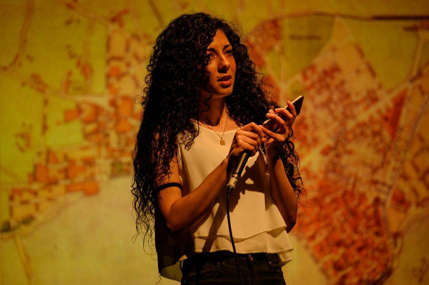 الممثلة الإيطالية الليبية ميريام سليمة فينو