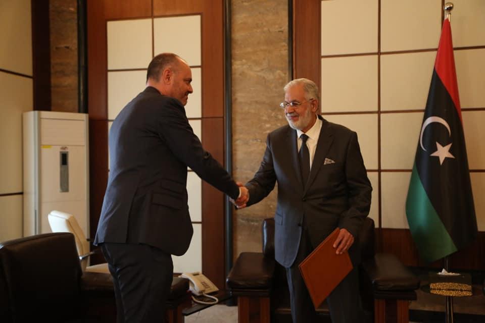 """سيالة يتصل هاتفياً بسفير الاتحاد الأوروبي لدى ليبيا - """"صورة أرشيفية"""""""