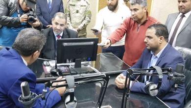 وزير التعليم بالحكومة المؤقتة يفتتح المبنى الجديد لكلية الإعلام بجامعة اجدابيا
