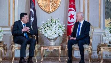 السراج يُقدّم لمحة عن مستجدات الأوضاع الليبية للرئيس التونسي