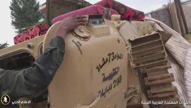 تمركزات مهمة للواء 73 مشاة في محور عمليات صلاح الدين بطرابلس