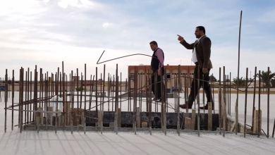 زيارة تفقدية لمشروع بناء كلية جديدة بجامعة اجدابيا