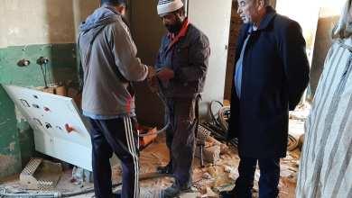 بلدية البوانيس: بدأنا في معالجة مشكلة طفح المياه في منطقة سمنو
