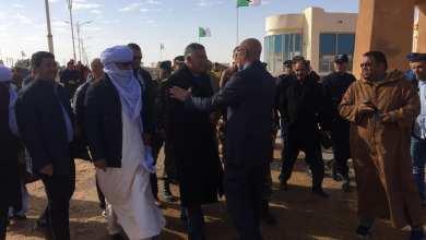 بلدية غدامس تعلن وصول شحنة الإغاثة الثانية من الجزائر