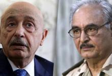 المستشار عقيلة صالح والمشير خليفة حفتر يغادران موسكو بعد تعثر المفاوضات