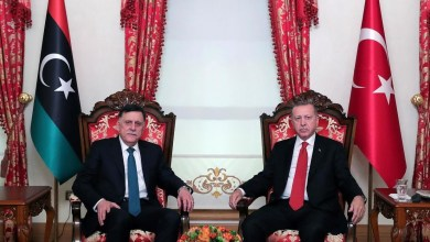 السراج وأردوغان- إرشيفية