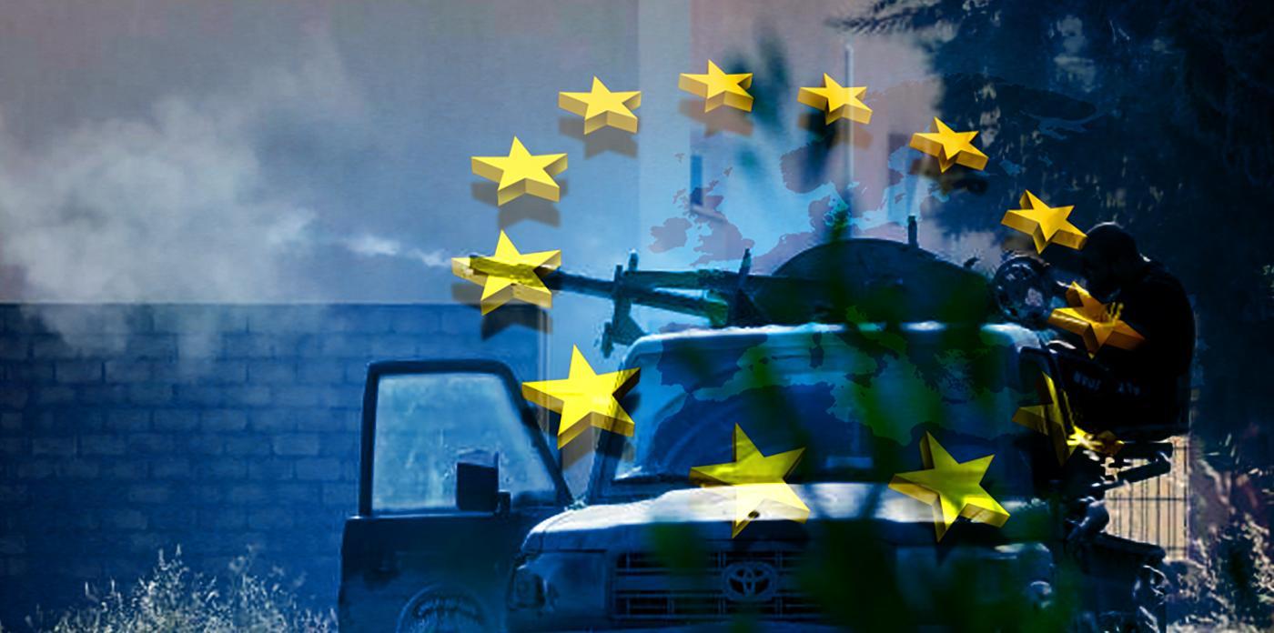 اشتباكات طرابلس - الاتحاد الأوروبي