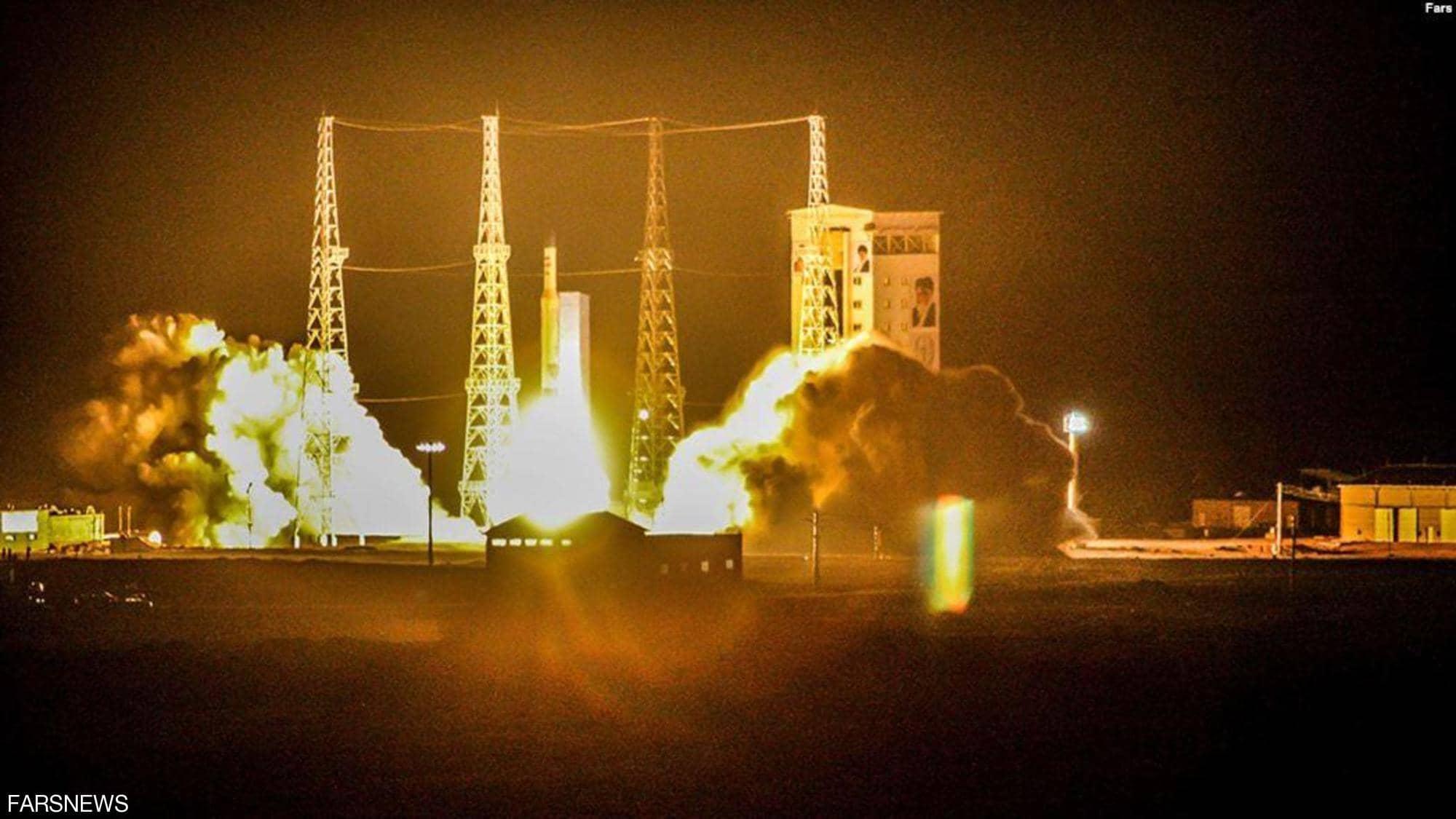 قمر صناعي إيراني