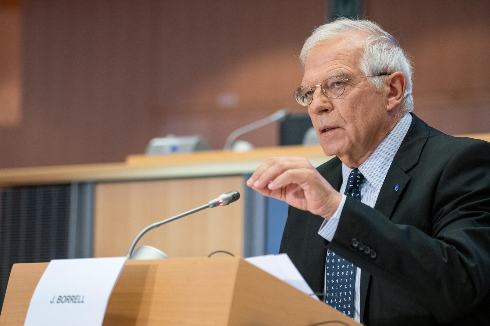 مفوض السياسة الخارجية في الاتحاد الأوروبي جوزيب بوريل
