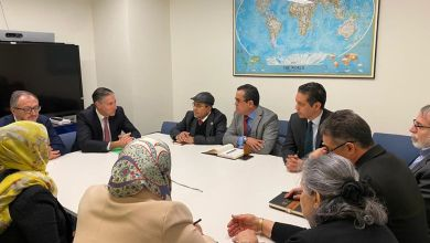 """وفد من """"مجلس نواب طرابلس"""" في سلسلة لقاءات أثناء زيارته لمدينة نيويورك"""