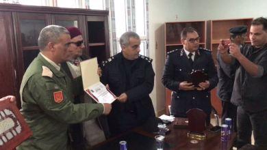 لقاء تكريم في طبرق لمديرية الأمن والمنطقة العسكرية