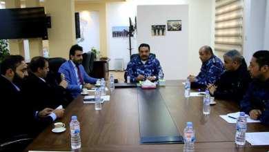 اجتماع في بنغازي بخصوص عمل لجنة تحصيل رسوم استهلاك الطاقة الكهربائية