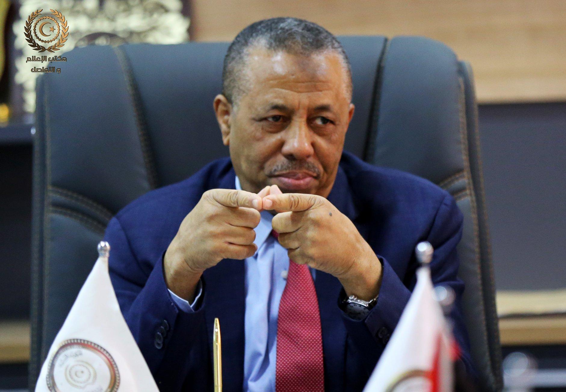 عبدالله الثني - رئيس الحكومة الليبية
