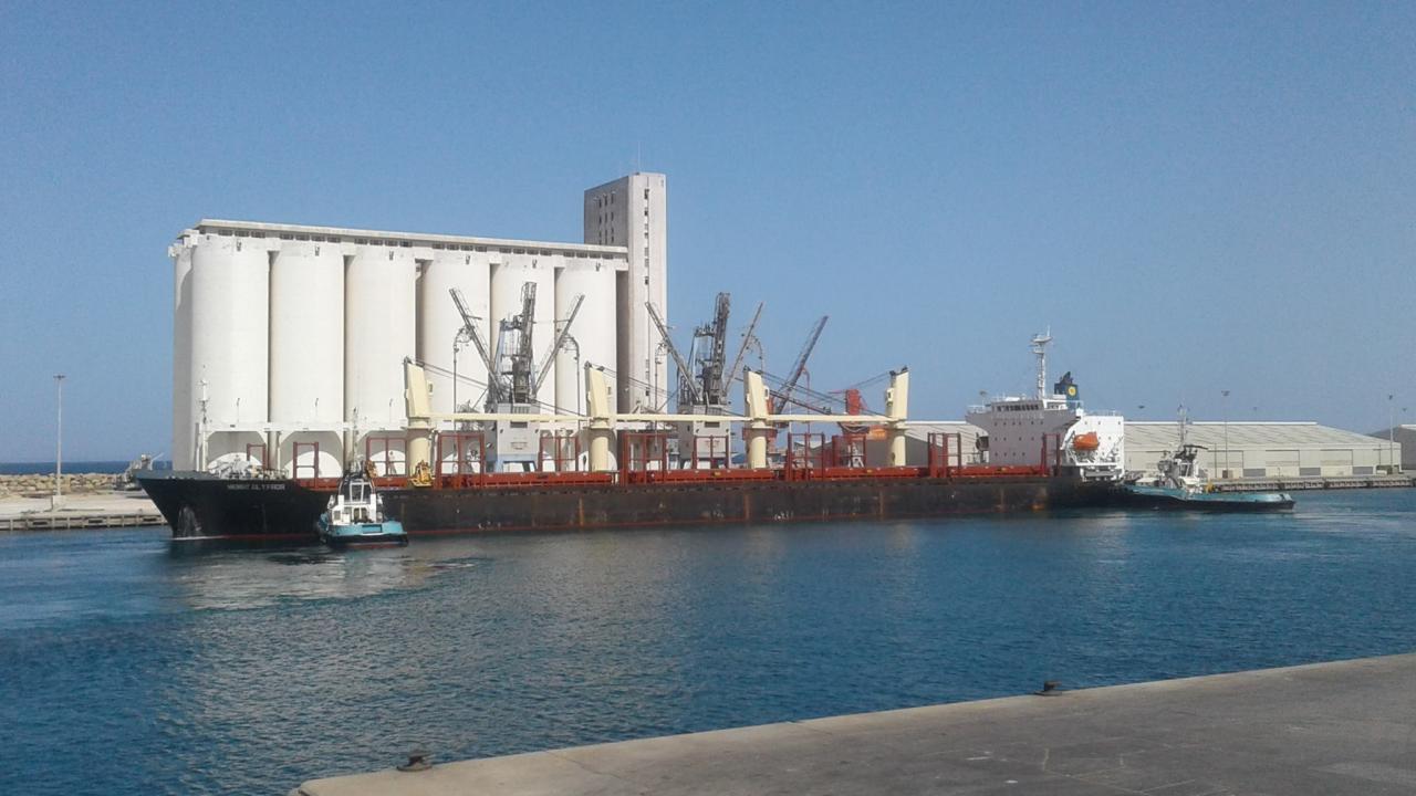 """ميناء مصراتة البحري - """"أرشيفية"""""""