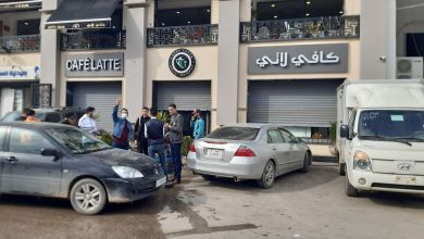 جانب من إغلاق المحال التجارية في بلدية سوق الجمعة