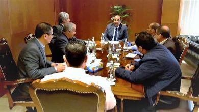 اجتماع المجلس التسييري لبلدية بنغازي للوقوف على جاهزية مشافي المدينة