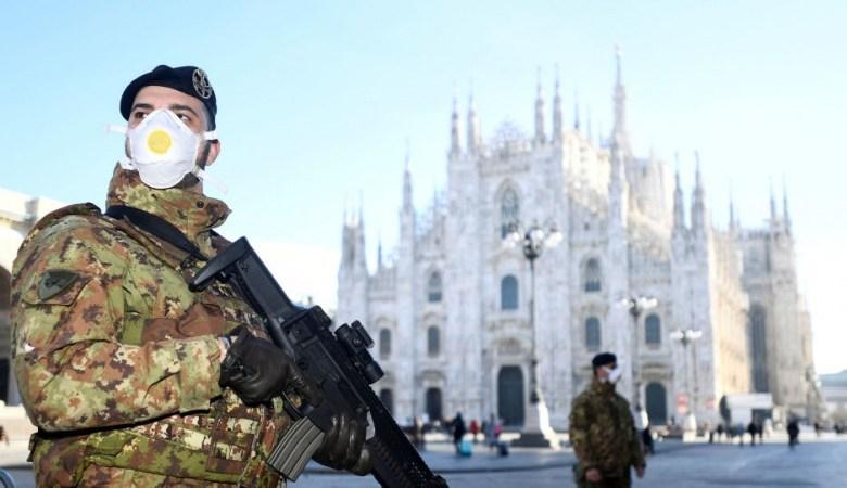 إجراءات وقائية في روما بسبب تفشي كورونا