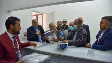 البلدي الزاوية يستلم مركز الرعاية الاجتماعية من المجموعة الأهلية للدعم الصحي