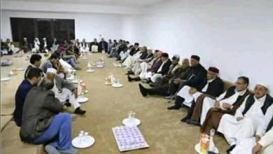 رئيس مجلس النواب عقيلة صالح يلتقي وفوداً اجتماعية بالقبة