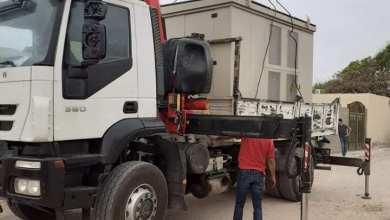 صيانة لمحطة غرب طرابلس من أعمال الشركة العامة للكهرباء