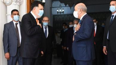 السراج وتبون يبحثان مستجدات الأوضاع في ليبيا