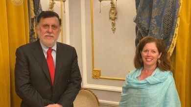 ستيفاني ويليامز تلتقي مع السراج في روما لمناقشة مستجدات الوضع الليبي