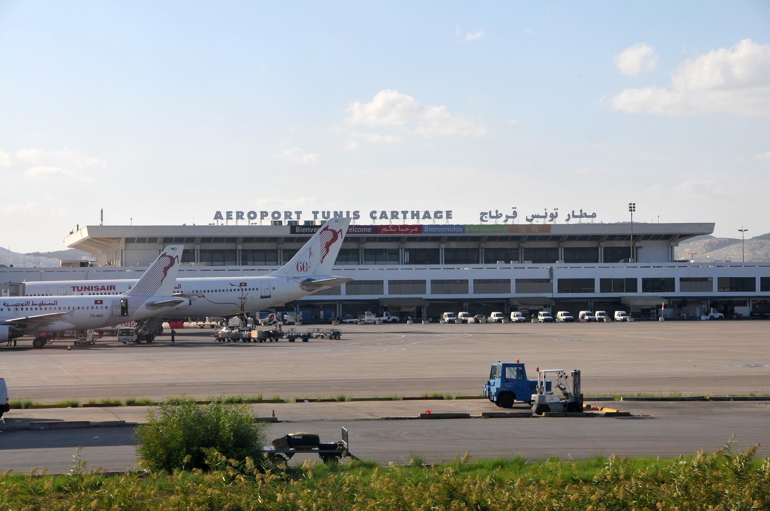 """مطار تونس قرطاج -""""أرشيفية"""""""