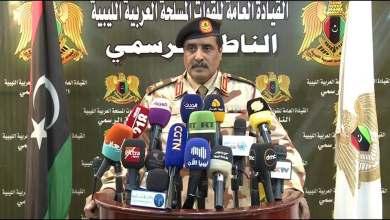 اللواء أحمد المسماري -الناطق الرسمي للقائد العام للجيش الوطني الليبي