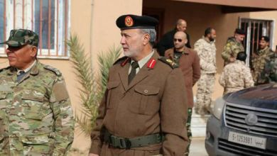 أسامة الجويلي آمر المنطقة العسكرية الغربية التابعة لقوات حكومة الوفاق