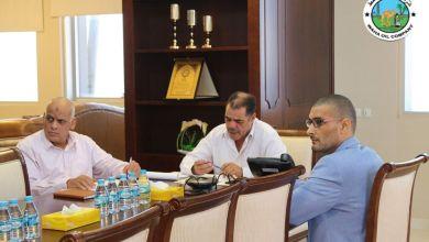 اجتماع شركة الواحة للنفط في طرابلس