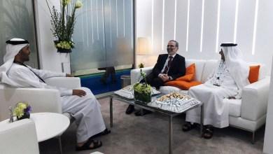 """مصطفى صنع الله في زيارة للإمارات العربية المتحدة -""""أرشيفية"""""""