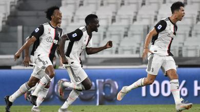 يوفنتوس يتوج ببطولة الدوري الإيطالي للمرة التاسعة على التوالي بعد تغلبه على سمبدوريا