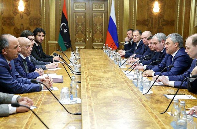 حراك برلماني لإنهاء الأزمة في ليبيا