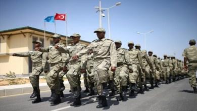 """القاعدة التركية في مقديشو عاصمة الصومال-""""أرشيفية"""""""